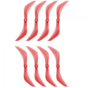 "DYS XT7543 7.5"" Red Propeller (Set of 8)"