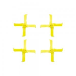 FuriousFPV FleekProp 2036-4 Propellers (2CW - 2CCW) - Yellow