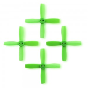 FuriousFPV High Performance 2435-4 Propellers (Neon Green 2CW & 2CCW)