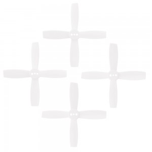 FuriousFPV High Performance 2435-4 Propellers (White 2CW & 2CCW)