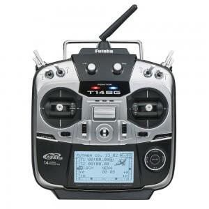 Futaba 14SGH 2.4G 14CH Radio with R7008SB FASSTest Telemetry Receiver