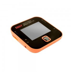 iSDT Q6 Plus 300W 14A MINI Pocket Battery Balance Charger (Orange)
