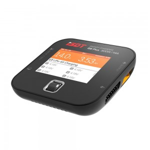 iSDT Q6 Plus 300W 14A MINI Pocket Battery Balance Charger (Black)