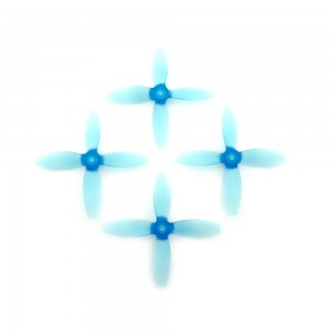 Lumenier 4x4x4 V2 - Propeller (Set of 4 - Transparent Blue)