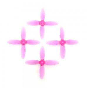 Lumenier 4x4x4 V2 - Propeller (Set of 4 - Transparent Purple)