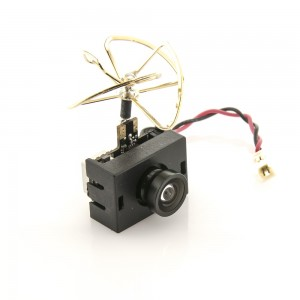 Lumenier AIO-Adjustable Mini FPV Camera + 0/25/50/200mW VTX w/ Clover Antenna