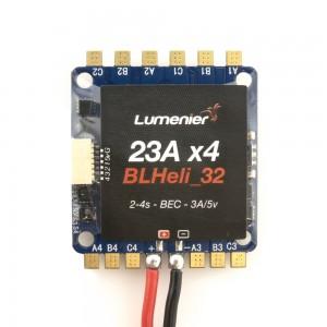 Lumenier BLHeli_32 32bit 23A 4-in-1 ESC 2-4s w/ BEC 3A/5v, DSHOT 1200