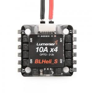 Lumenier Mini BLHeli_S 10A 4-in-1 OPTO ESC DSHOT
