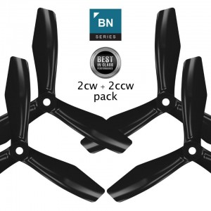 Master Airscrew BN-3Blade - 6x4.5 Prop Set X4 - Black