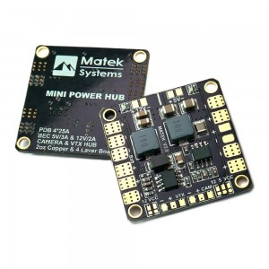 Matek Mini Power HUB with BEC 5V & 12V