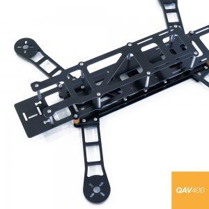 QAV400 FPV Quadcopter Frame with G10 Arms