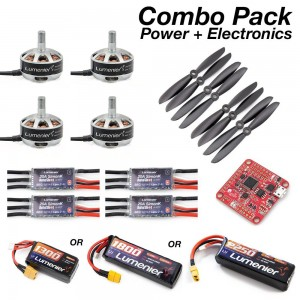 "Lumenier Mini Quad Power + Electronics Starter Pack (6"")"