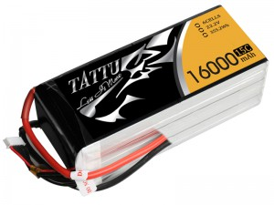 TATTU 16000mAh 6s 15c Lipo Battery