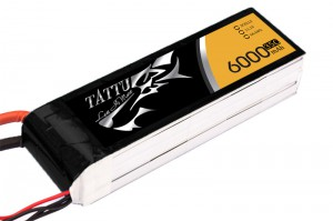 TATTU 6000mAh 3s 35c Lipo Battery (XT60)