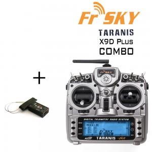 FrSky Taranis X9D Plus 2.4GHz ACCST Radio & X8R Combo (Mode 2) (OPEN BOX)