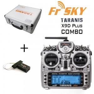 FrSky Taranis X9D Plus 2.4GHz ACCST Radio & X8R Combo w/ case (Mode 2) (OPEN BOX)