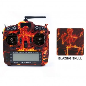 Blazing Skull - FrSky 2.4G 16CH Taranis X9D Plus SE Transmitter SPECIAL EDITION w/ M9 Gimbals (OPEN BOX)