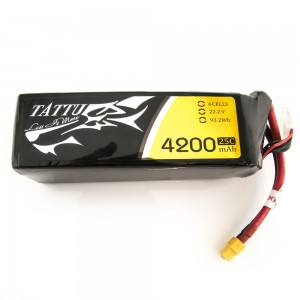 TATTU 4200mAh 6s 35c Lipo Battery
