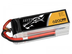 TATTU 6200mAh 6s 35c Lipo Battery