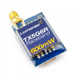 Lumenier TX5G6R Mini 600mW 5.8GHz FPV Transmitter with Raceband