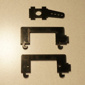Tricopter Yaw Crash Replacement Parts for v1.2