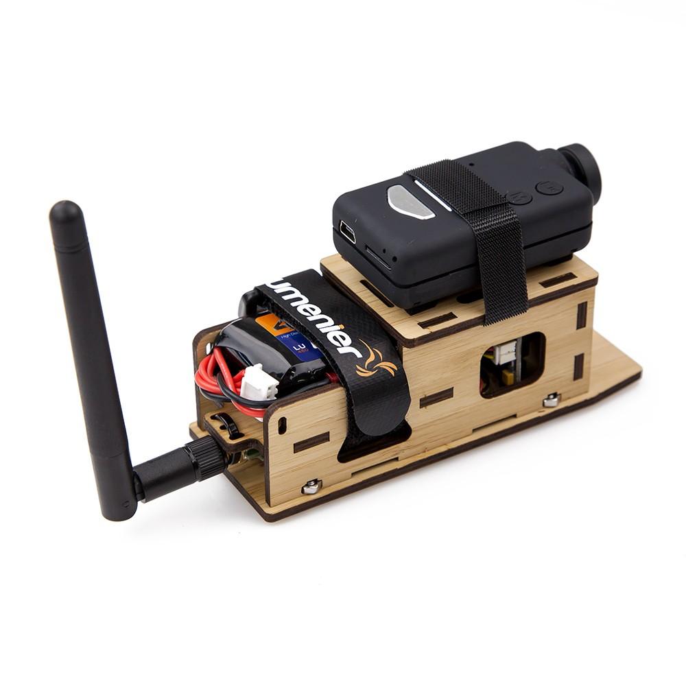 Easy Mobius camera mounting.