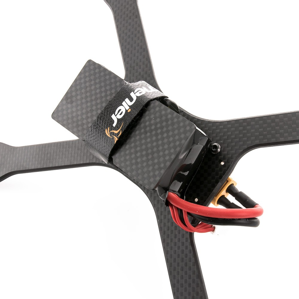 Includes Carbon Fiber battery protector plate.
