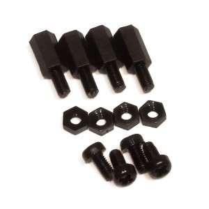Black Polyamide Standoff Set (10mm)