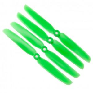 Gemfan 6x3 Propeller - 2 Blade (Set of 4 - Green)