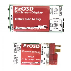 ImmersionRC EzOSD & Current Sensor (Deans)