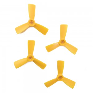 HQ DP3x4.5x3Y Propellers - 3 Blade (4 Pack - Yellow)