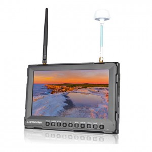 "8"" Lumenier Slim FPV Monitor w/ 5.8GHz 32CH Diversity Rx, Battery & HDMI"