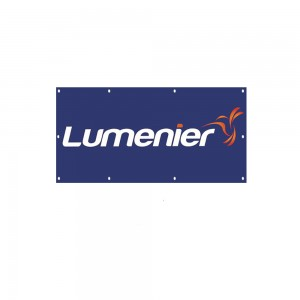 Lumenier Vinyl Flag with Metal Eye Holes