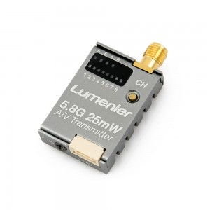 Lumenier TX5G25C Mini Cased 25mW 5.8GHz FPV Transmitter with Raceband