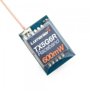 Lumenier TX5G6R Mini 600mW 5.8GHz FPV Transmitter with Raceband (w/ pigtail SMA)