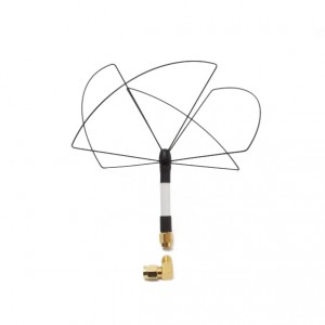 Circular Wireless 1.3 GHz SPW12 RCHP Skew Planar Wheel Antenna