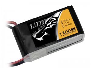 TATTU 1300mAh 3s 25c Lipo Battery (XT60)