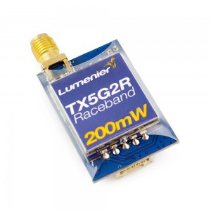 Lumenier TX5G2R Mini 200mW 5.8GHz FPV Transmitter with Raceband